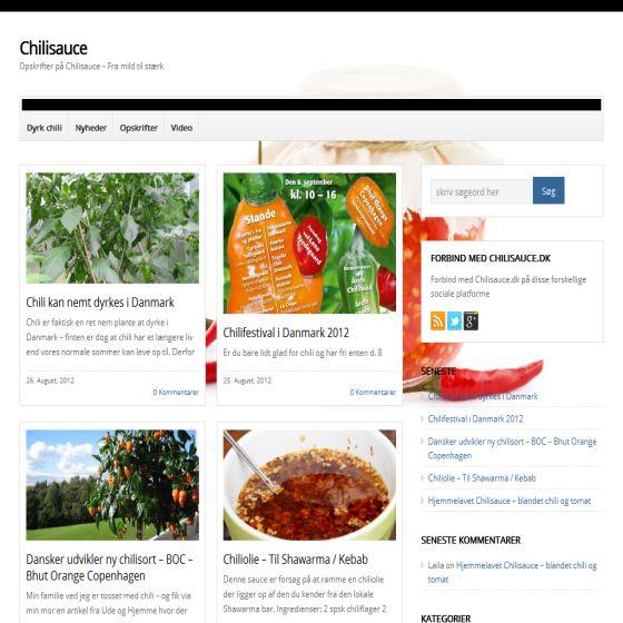 Chilisauce fra mild til hot - opskrifter