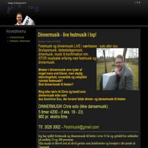 Festmusiker Chris Hansen - Bryllup & fest