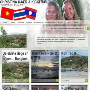 Christina Kjær og Kicki Bang