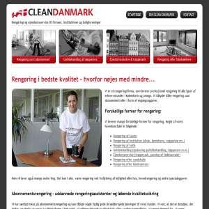 Proffesionel rengøring til kontorer, institutioner og butikker