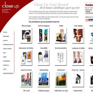 Close Up | Udstillingssystemer