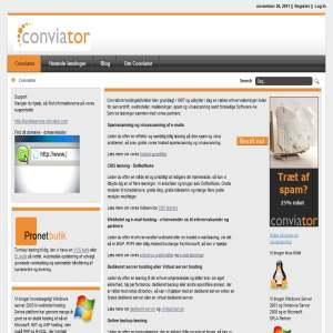 Conviator hosting, spam og virus løsninger