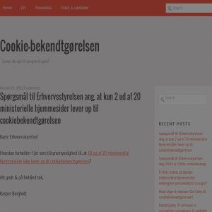 Cookiebekendtgørelsen - alt om cookies & lovgivning