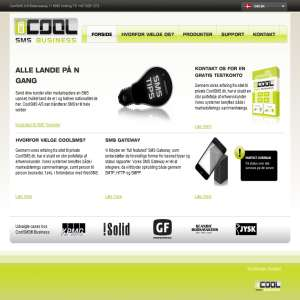 CoolSMS - DKs største SMS Gateway