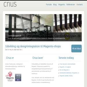 Crius Magento webshops
