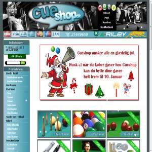 Cueshop.dk - Pool & Billard gear