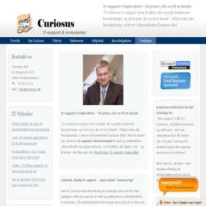 Curiosus - IT Konsulenter, hosting & support