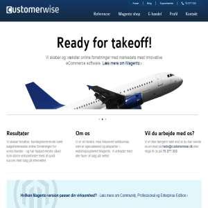 Customerwise - Magento Webshop eksperter