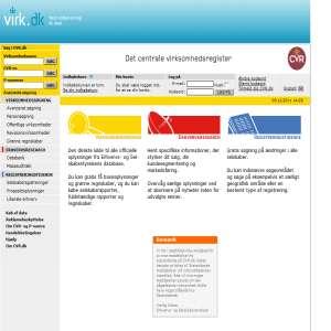 Det centrale virksomhedsregister