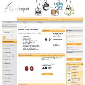 Cyberimport - Smykker