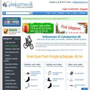 Cykler fra Cykelpartner.dk