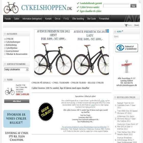 Cykelshoppen.dk