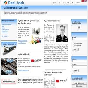 Dani-tech - Hydraulik / mekaniske løsninger til industri & landbrug