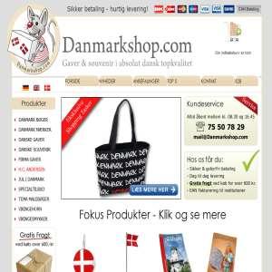 Gaver & souvenir fra Danmarkshop.com