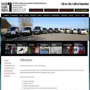 Dansk Alarm Sikring - Tyverialarm
