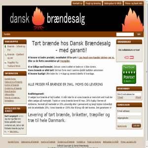 Brænde og Pejsebrænde, tørt og billigt - Dansk Brændesalg
