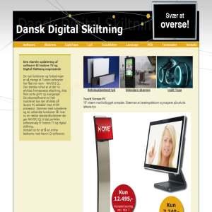 Digital Skiltning fra Dansk Digital Skiltning
