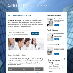 Danske aktier - alt om investering og aktier