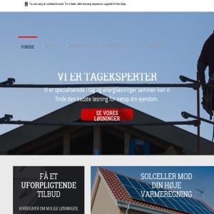 Dansk tagbyg speciale i tag og energi