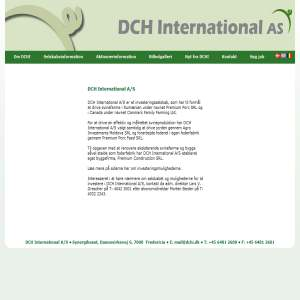 DCH International A/S