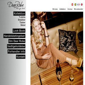 Dear Robe - kvinde accessories, skind tasker og designer smykker