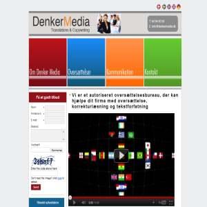 Denker Media - kommunikations- & oversættelsesbureau