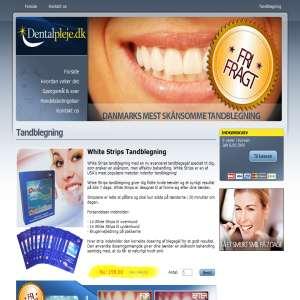 Dentalpleje.dk - tandblegning