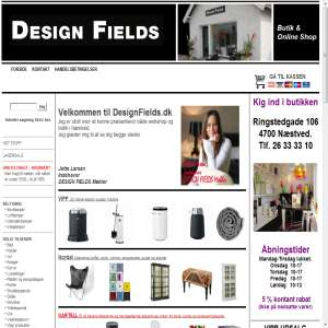 DESIGN FIELDS - Møbler og Boligindretning