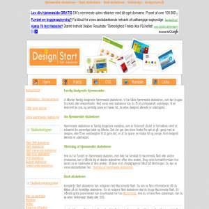 Web Skabeloner fra Designstart