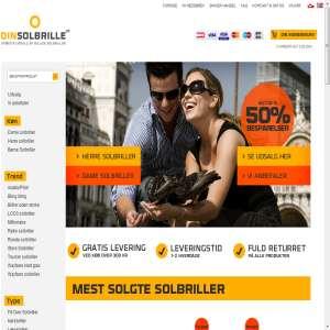 Dinsolbrille.dk - Solbriller på tilbud