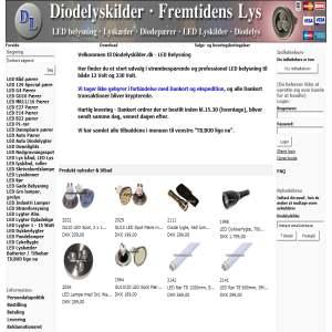 Diodelyskilder.dk - LED Belysning
