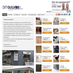 Ditgulv.dk - Køb parketgulve online