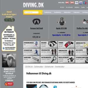 Diving.dk alt i Dykkerudstyr