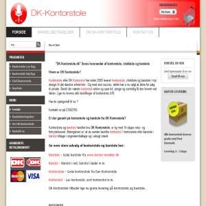 DK Kontorstole - Gode kontorstole