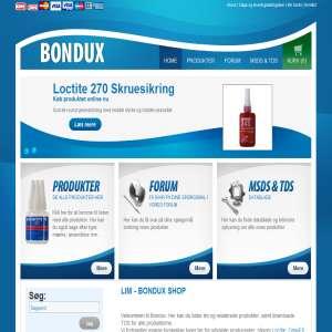 Bondux - kædeolie, smøreolie, industrilim og silikone produkter