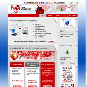 Popfax.com - internet fax tjeneste