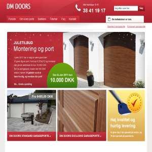 DM Doors - garageporte