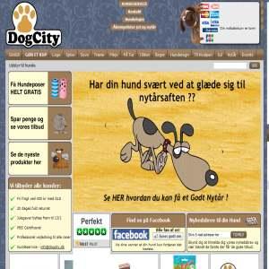 DogCity - Hundeudstyr til træning og leg