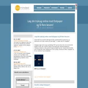 Læg dokumenter online med Dotpaper fra Dotminded