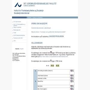 DPIL - Spørg om skadedyr