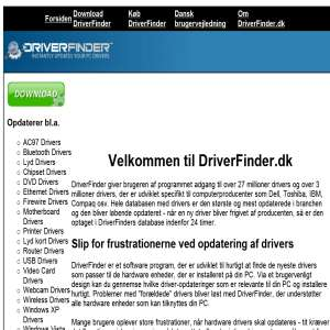 DriverFinder.dk