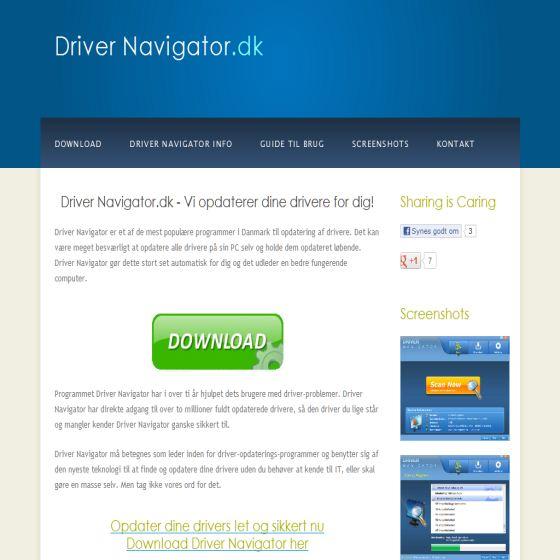 Driver Navigator.dk