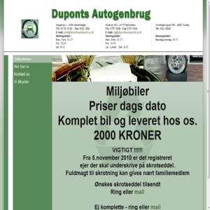 Duponts Autogenbrug
