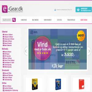 Køb software hos e-Gear.dk