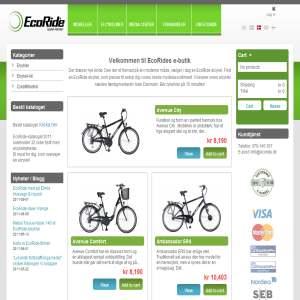 Ecoride.dk - Skift til en elcykel