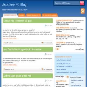 Asus Eee PC Bloggen