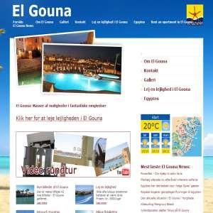 Udlejning af ferielejlighed i El Gouna (Egypten)
