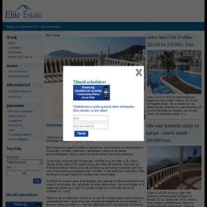 Elite Estate - eklusive feireboliger i Alanya