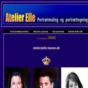 Portrætmaler Preben Elle-Hansen