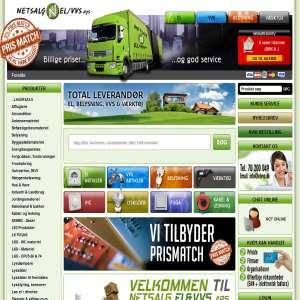 Netsalg El&VVS - Elartikler og VVS til billige priser